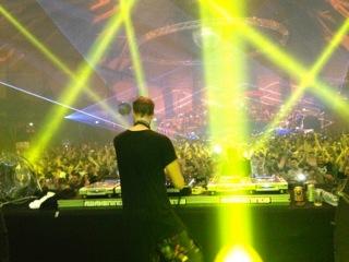 DJ at ADE 2014