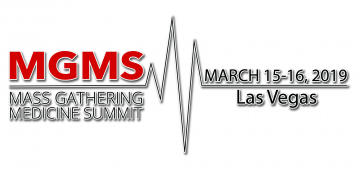 Mass Gathering Medicine Summit, Las Vegas, 2019